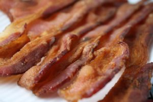 Airfryer crispy bacon